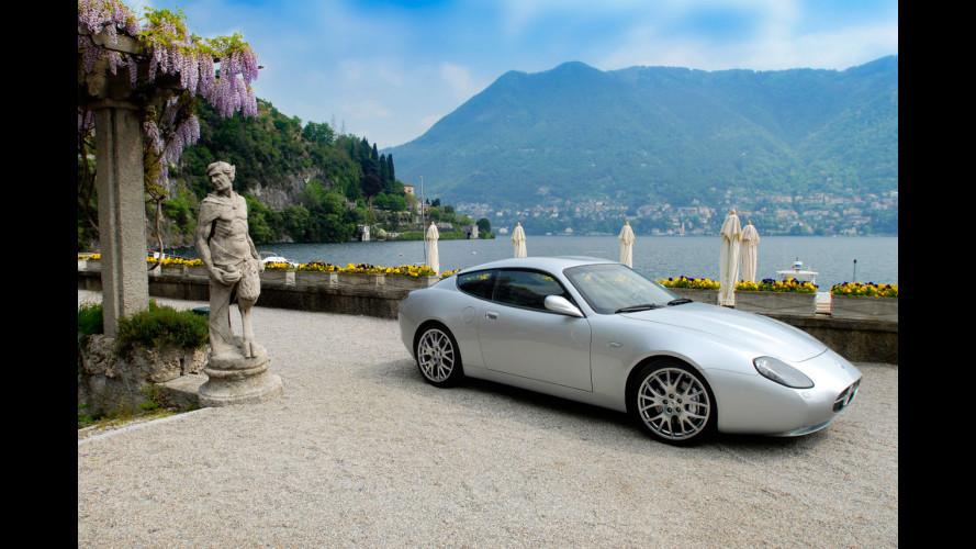 Maserati GS Zagato a Villa D'Este