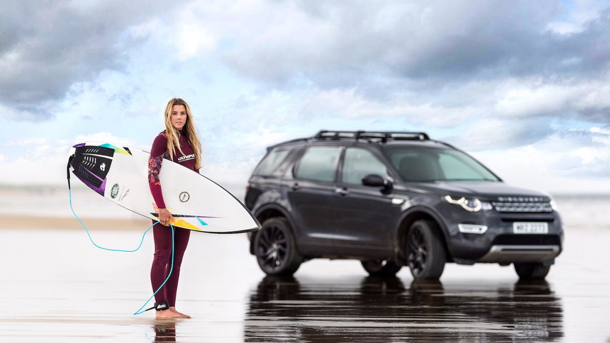 Jaguar Land Rover Transformed A Car Into A Surfboard