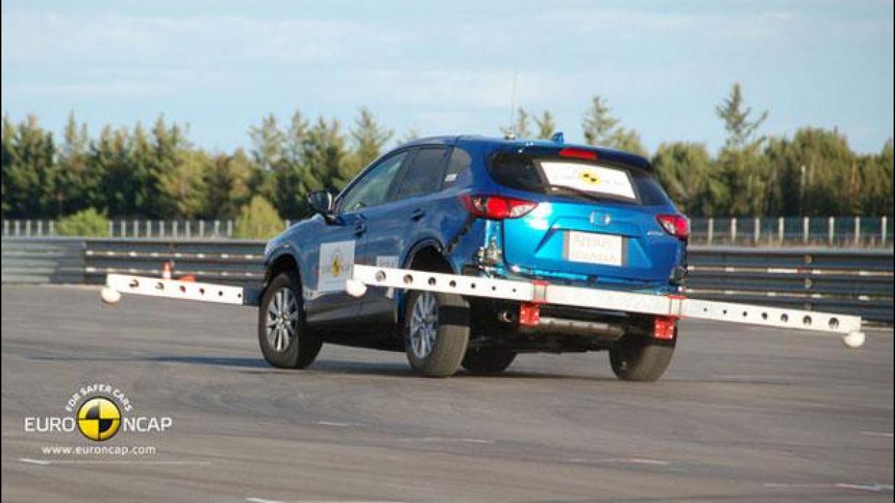[Copertina] - 5 stelle EuroNCAP per la Mazda CX-5