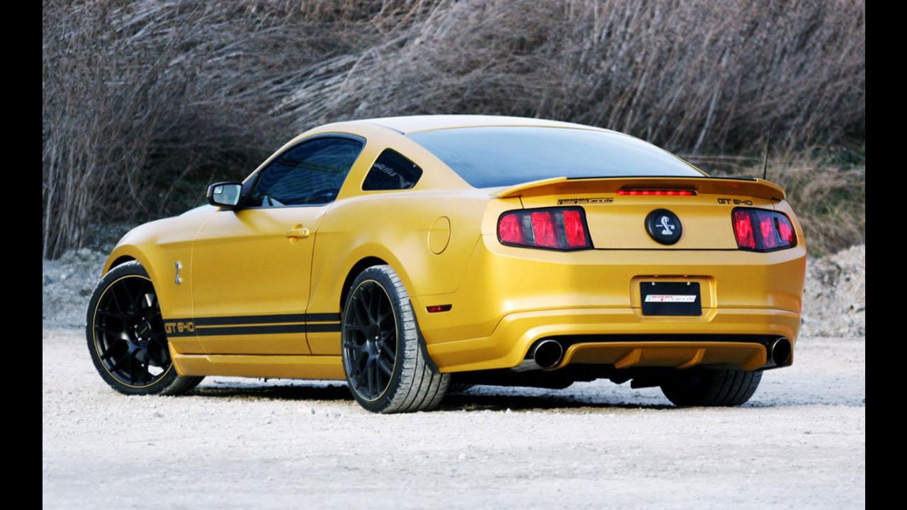 Ford Mustang Shelby GT640 Golden Snake