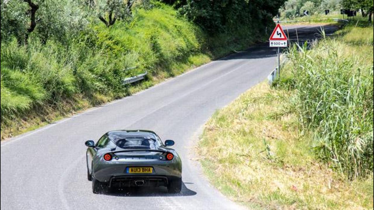 [Copertina] - Lotus Evora S Sports Racer, la prova su strada