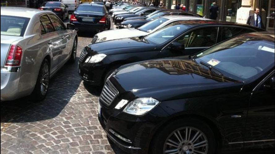 """Auto blu, adesso si possono usare """"solo"""" a Roma"""