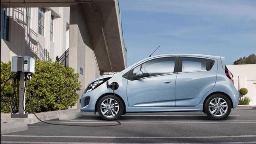 Chevrolet Spark EV, l'elettrica che fa più di 31 km con 1 euro