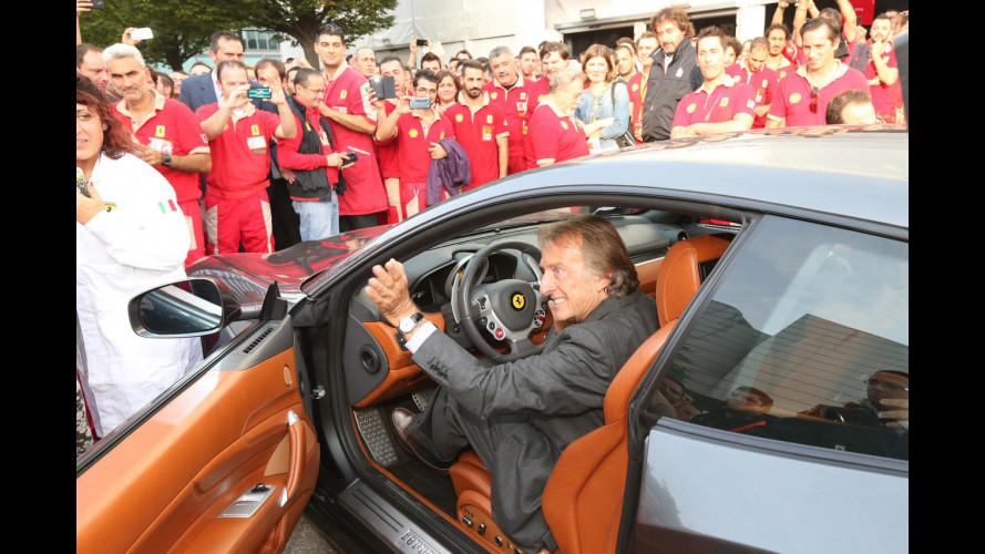 Ferrari, Montezemolo dice addio a Maranello
