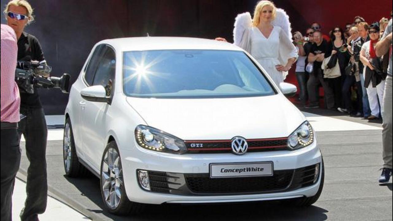 [Copertina] - Volkswagen Golf GTI ConceptWhite
