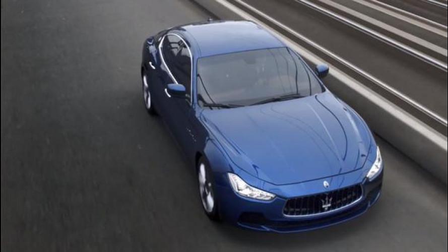 Maserati Ghibli, il video ufficiale vola sul web