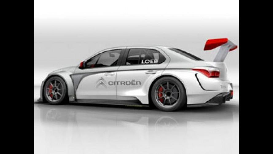 Citroen correrà al WTCC con la C-Elysée