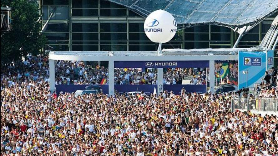 Gli Europei di Calcio 2012 si seguono in piazza con lo Hyundai Fan Park