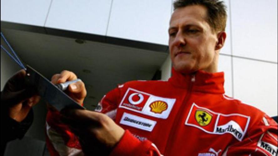 Michael Schumacher cercatissimo sul web