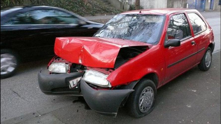 In Italia gli incidenti stradali sono diminuiti
