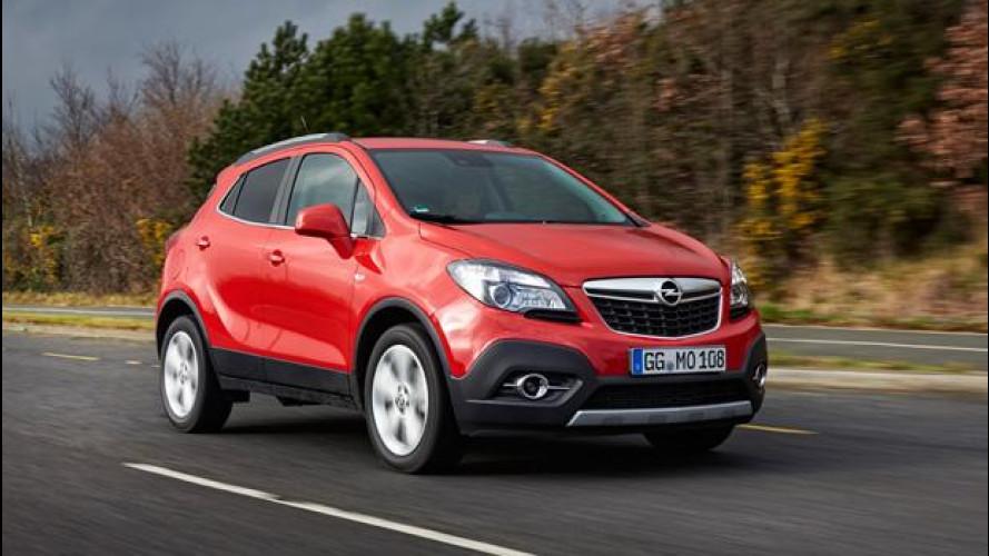 Opel, su strada con i nuovi diesel