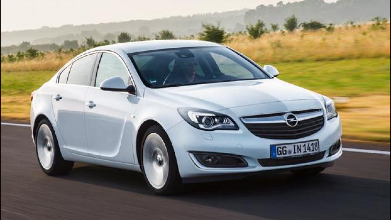[Copertina] - Opel Insignia, maggiore potenza e consumi ridotti