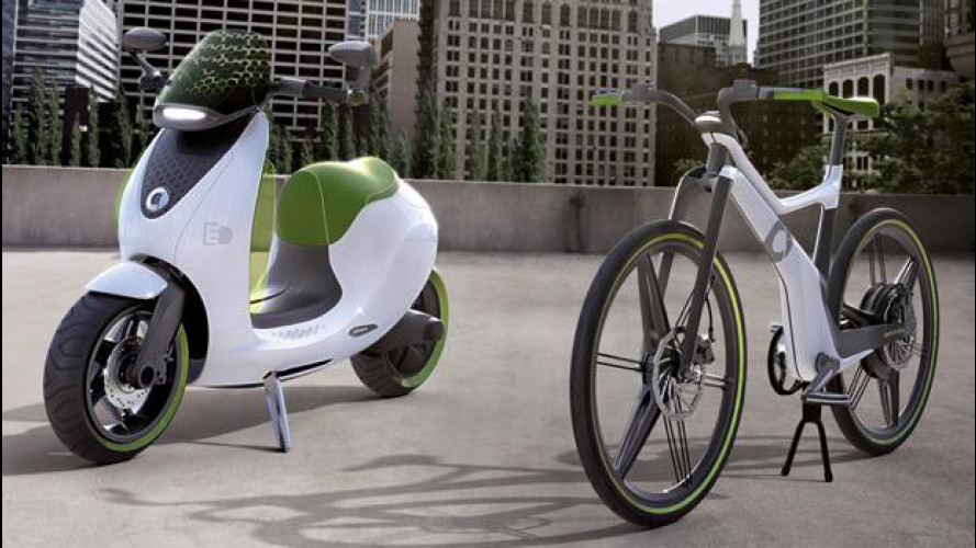 Lo smart escooter sarà in vendita nel 2014