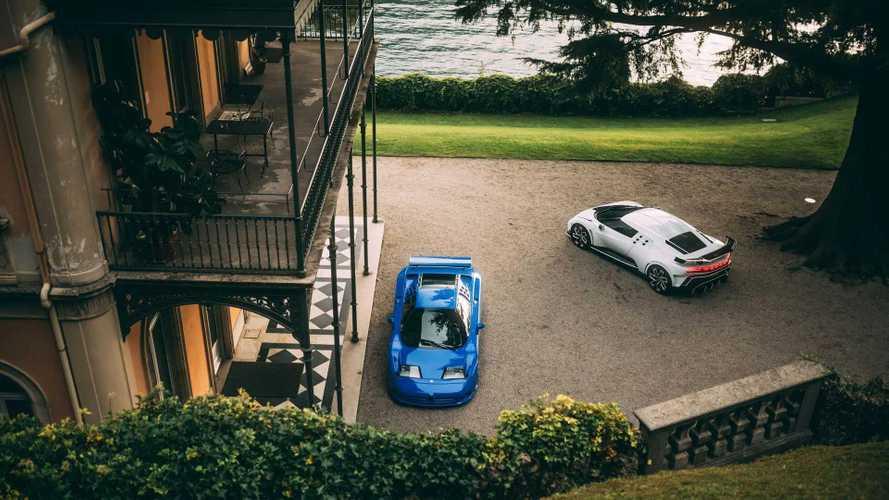 Olaszországban nyűgözte le élőben a nézőket a Bugatti Centodieci és az EB110