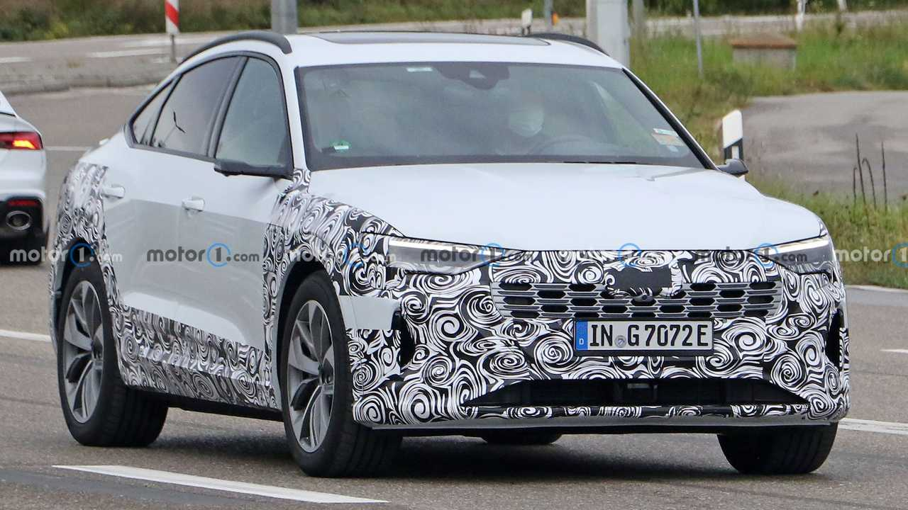 2023 Audi E-Tron Sportback Spy Fotók