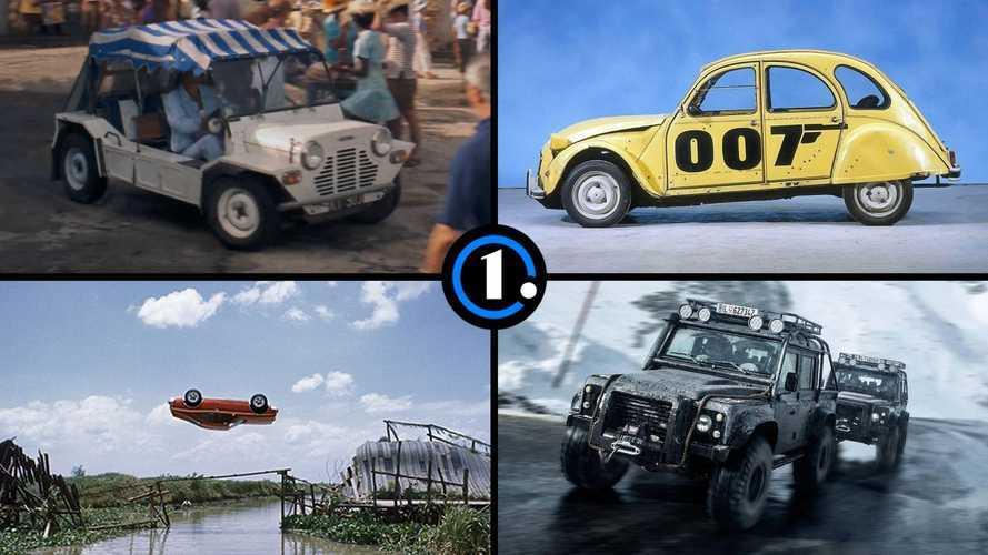 От Citroen 2CV до Mini Moke: 7 неожиданных машин Джеймса Бонда