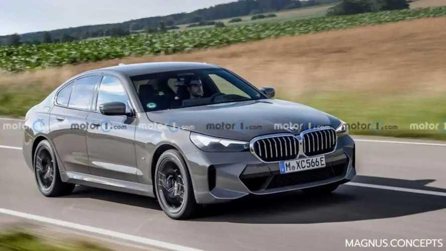 """La nouvelle BMW Série 5 aurait une calandre """"normale"""""""