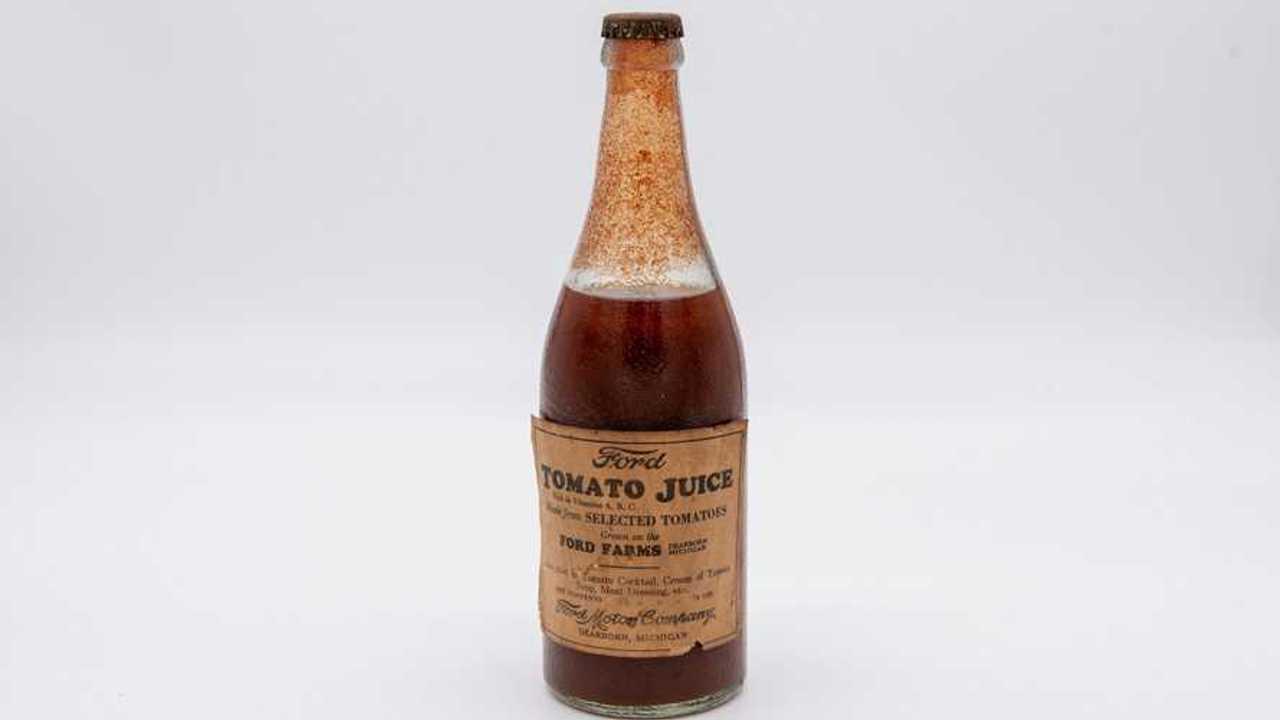 ford tomato juice bottle