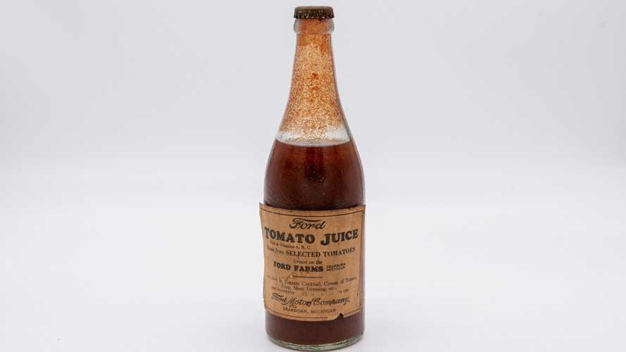Put This 83-Year-Old Bottle Of Ford Tomato Juice On Your Grocery List