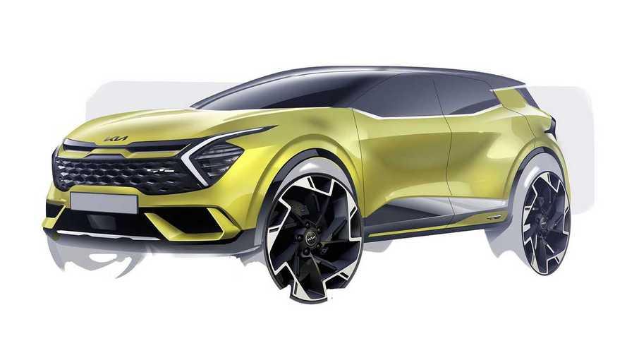 2022 Kia Sportage teased in European flavour, debuts September 1