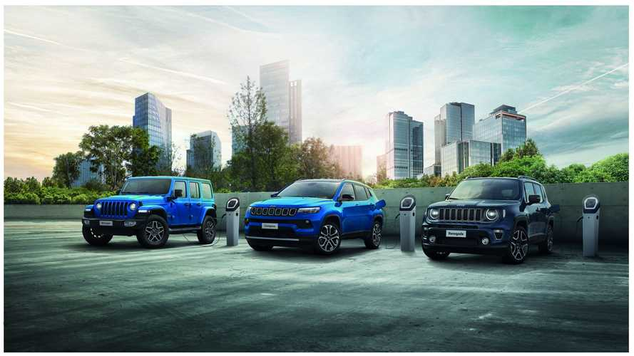 Jeep Announces Fully Electric Models In Every SUV Segment By 2025