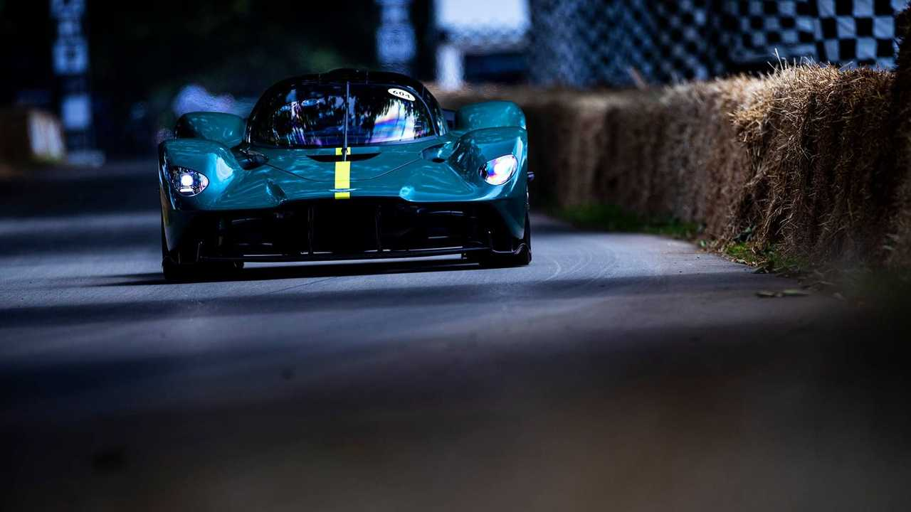 Aston Martin Valkyrie AMR Pro à Goodwood FoS 2021
