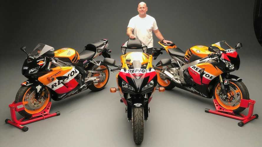 3 Honda CBR1000RR Repsol Bikes Head To Auction For A Great Cause