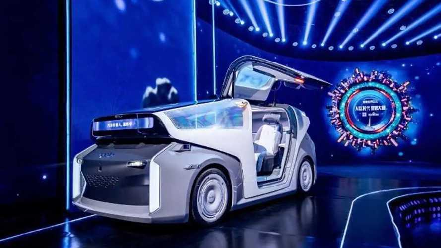 Ecco l'auto elettrica di Baidu: non ha volante né pedali