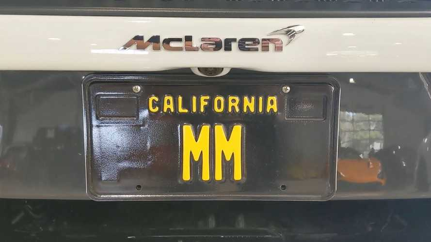 'MM' California License Plate Costs An Insane $24.5 Million