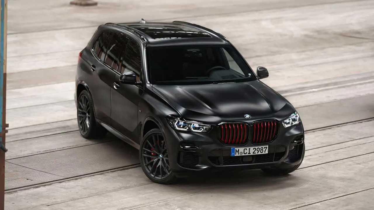 2022 BMW X5 Fekete Vermilion