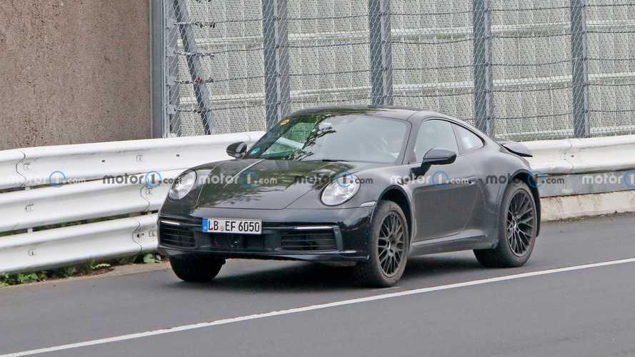 Porsche 911 Safari, le nuove foto spia