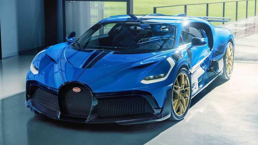 Bugatti завершила производство гиперкаров Divo