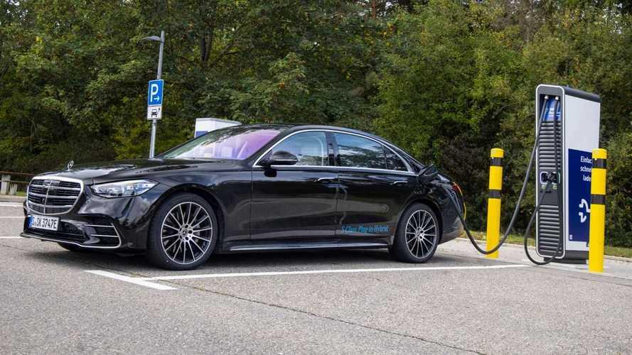 Mercedes-Benz S 580 e L plug-in hybrid