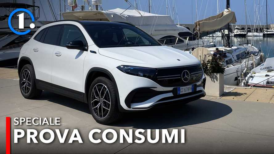 Mercedes EQA, quanto consuma davvero?
