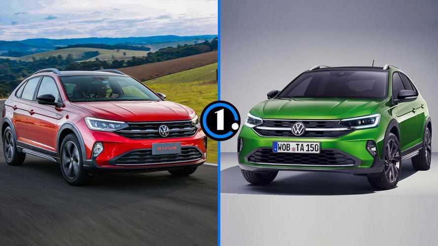 VW Nivus ou Taigo? Veja as diferenças do modelo gêmeo europeu
