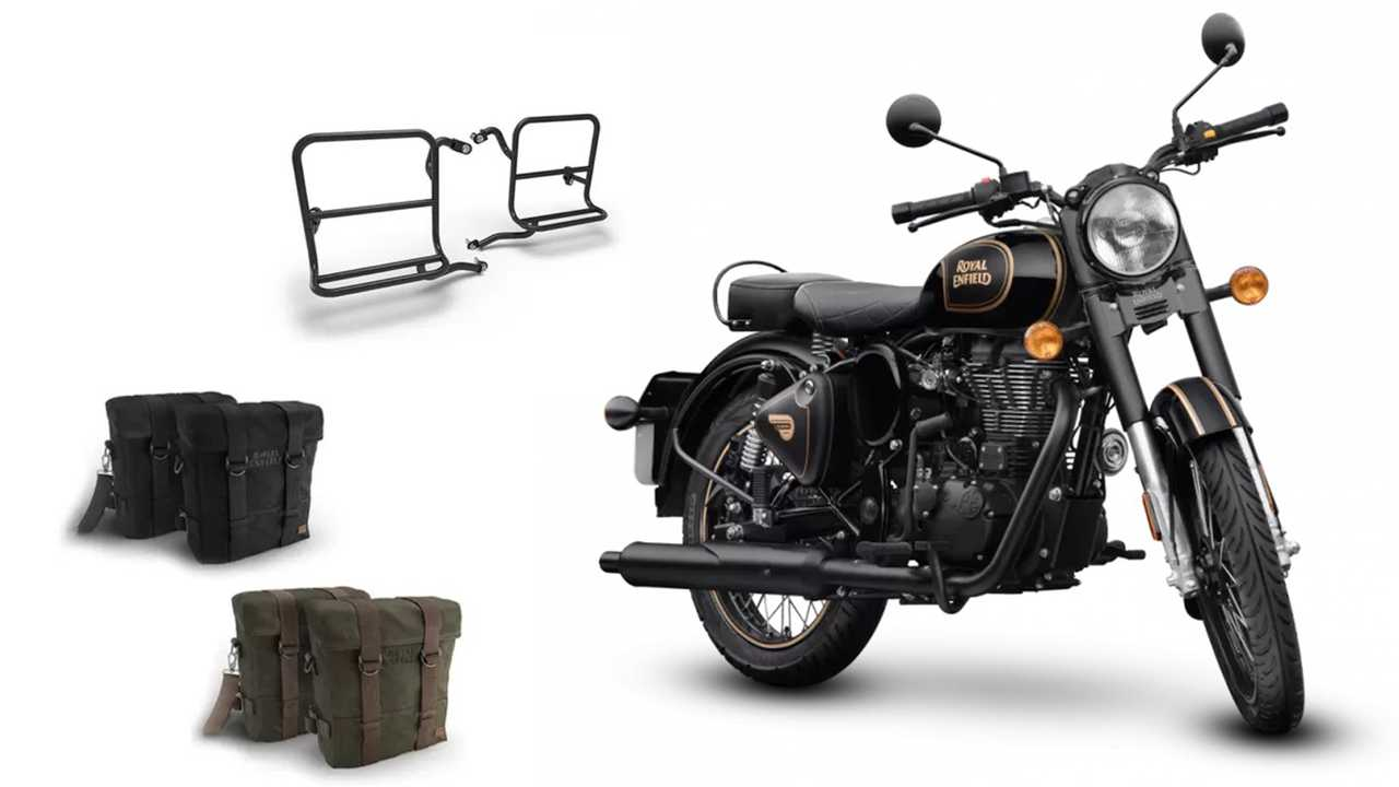 Royal Enfield Classic 500 Military Panniers Kit