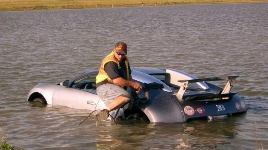 La increíble historia del Bugatti Veyron 'ahogado' por su dueño