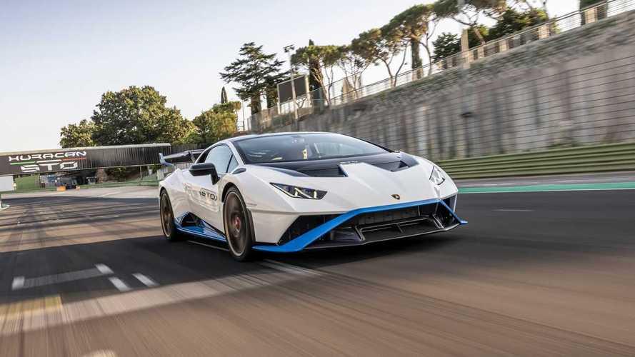 Lamborghini Huracan STO, la prova in pista