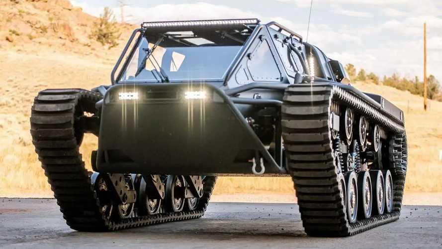 Descubre el Ripsaw EV3-F4, un lujoso tanque con 800 CV