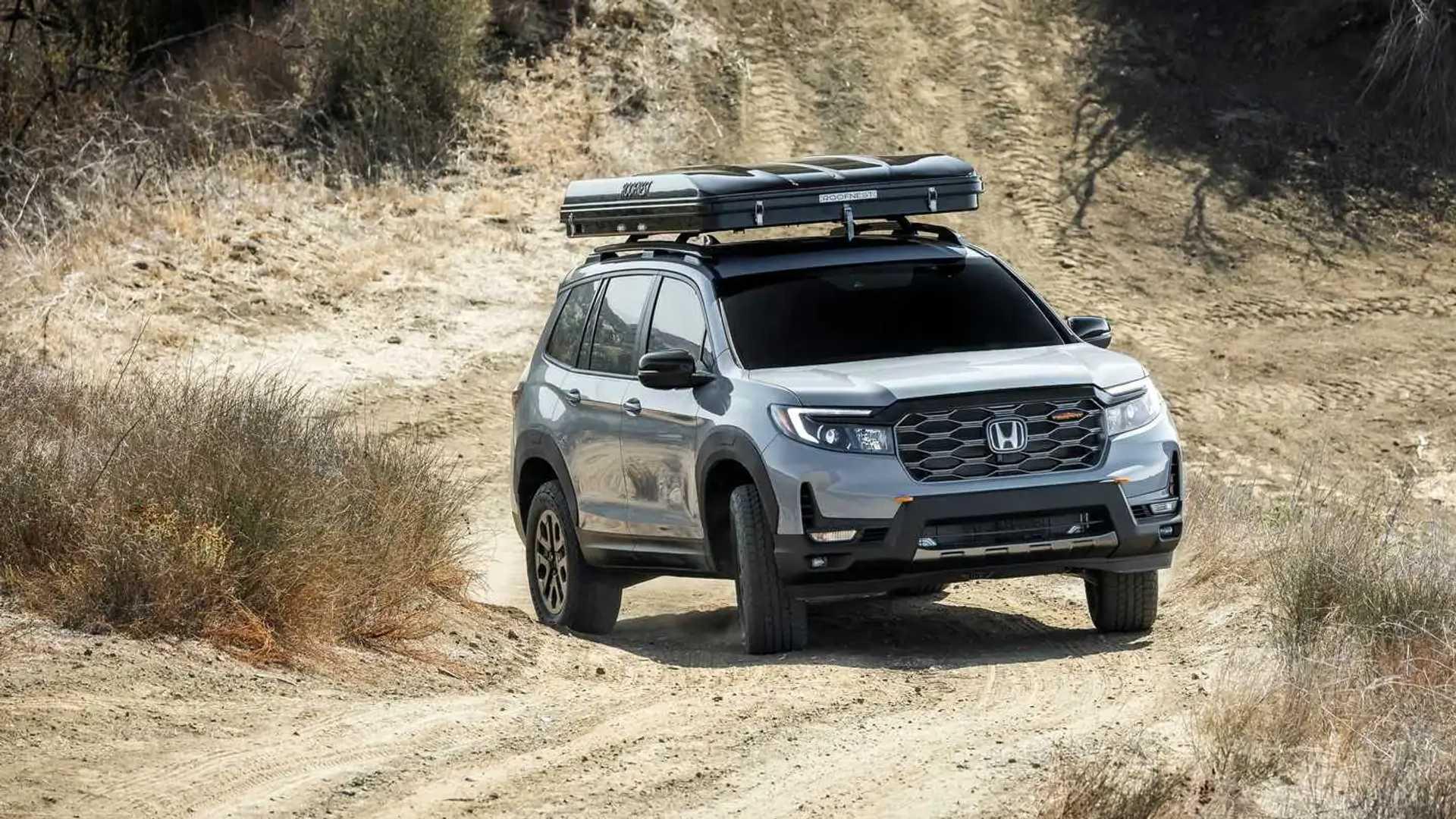 Honda Passport TrailSport Rugged Roads Project vehicle (exterior)