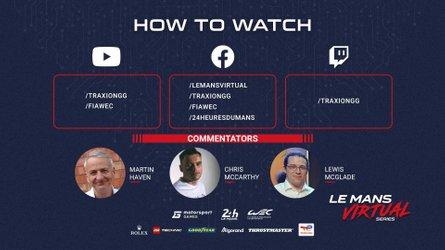 Sehen Sie sich das Le Mans Virtual Series Cup Race an