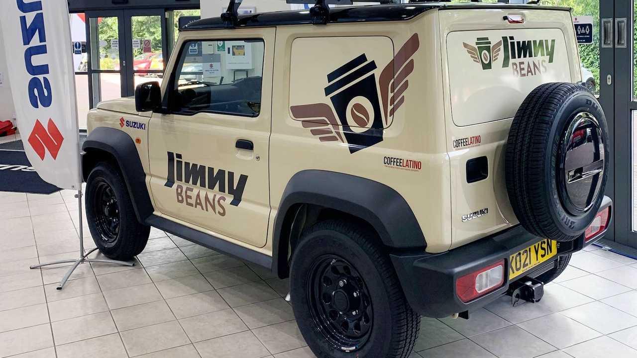 Suzuki Jimny Beans, un bar su ruote