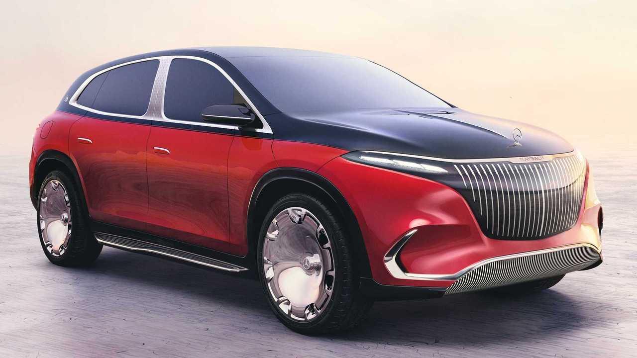 Mercedes stellt die Maybach-Version des EQS SUV als Designstudie vor