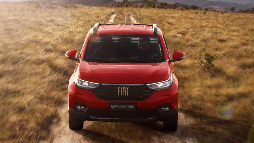 Carros mais vendidos de agosto: com Strada líder, Fiat domina