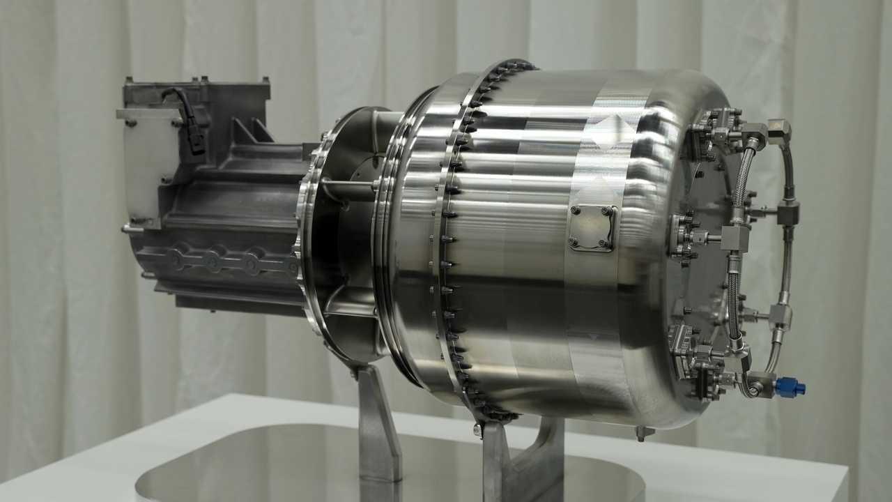 Generador de turbina de gas de concepto de avión híbrido Honda eVTOL