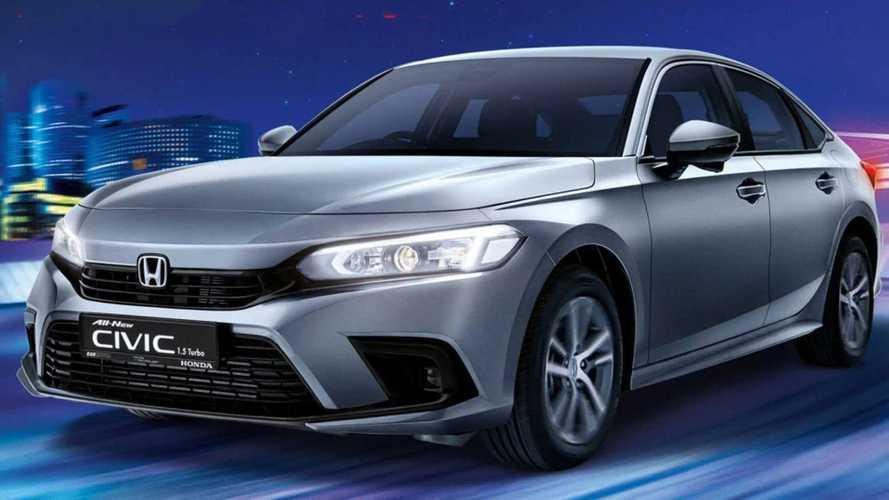 Novo Honda Civic ganha versão mais branda com motor 1.5 de 129 cv