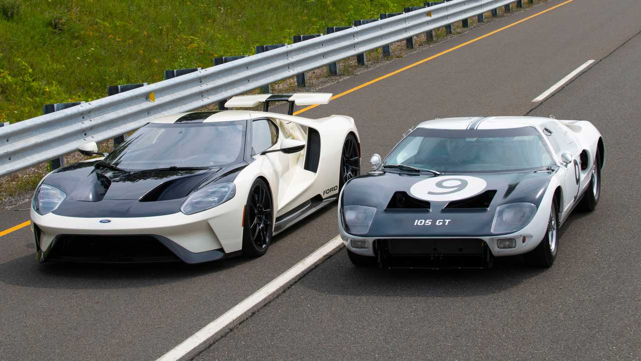 ford gt heritage and 1964 gt prototype