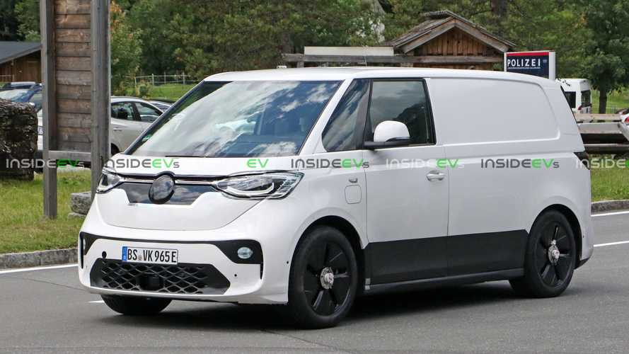 New Spy Photos Shed More Light On Volkswagen ID Buzz