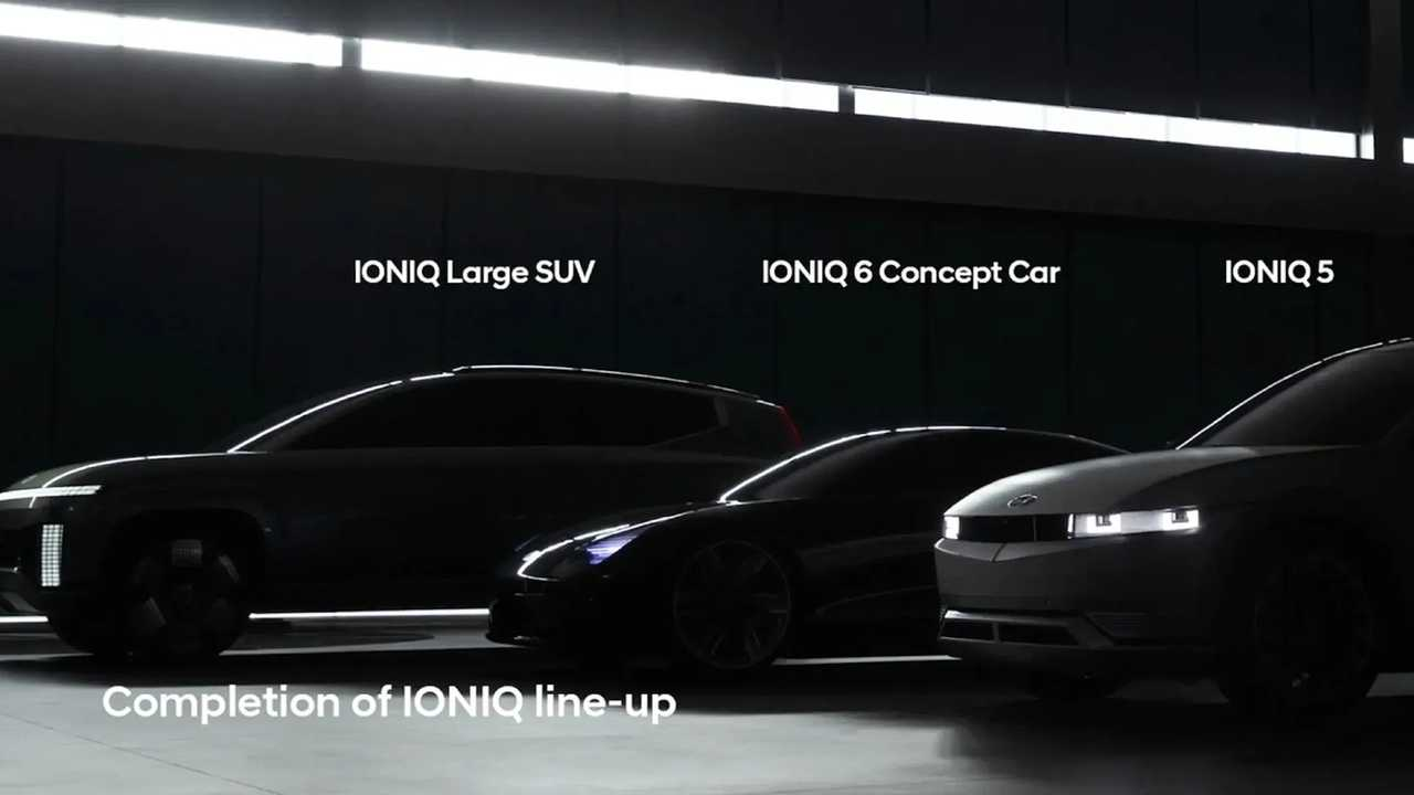 Új Hyundai Ioniq 7 teaser