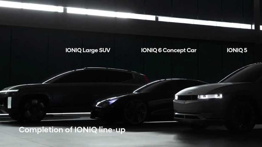 Ioniq 7 névvel nagyobb elektromos SUV-t lebegtetett be a Hyundai